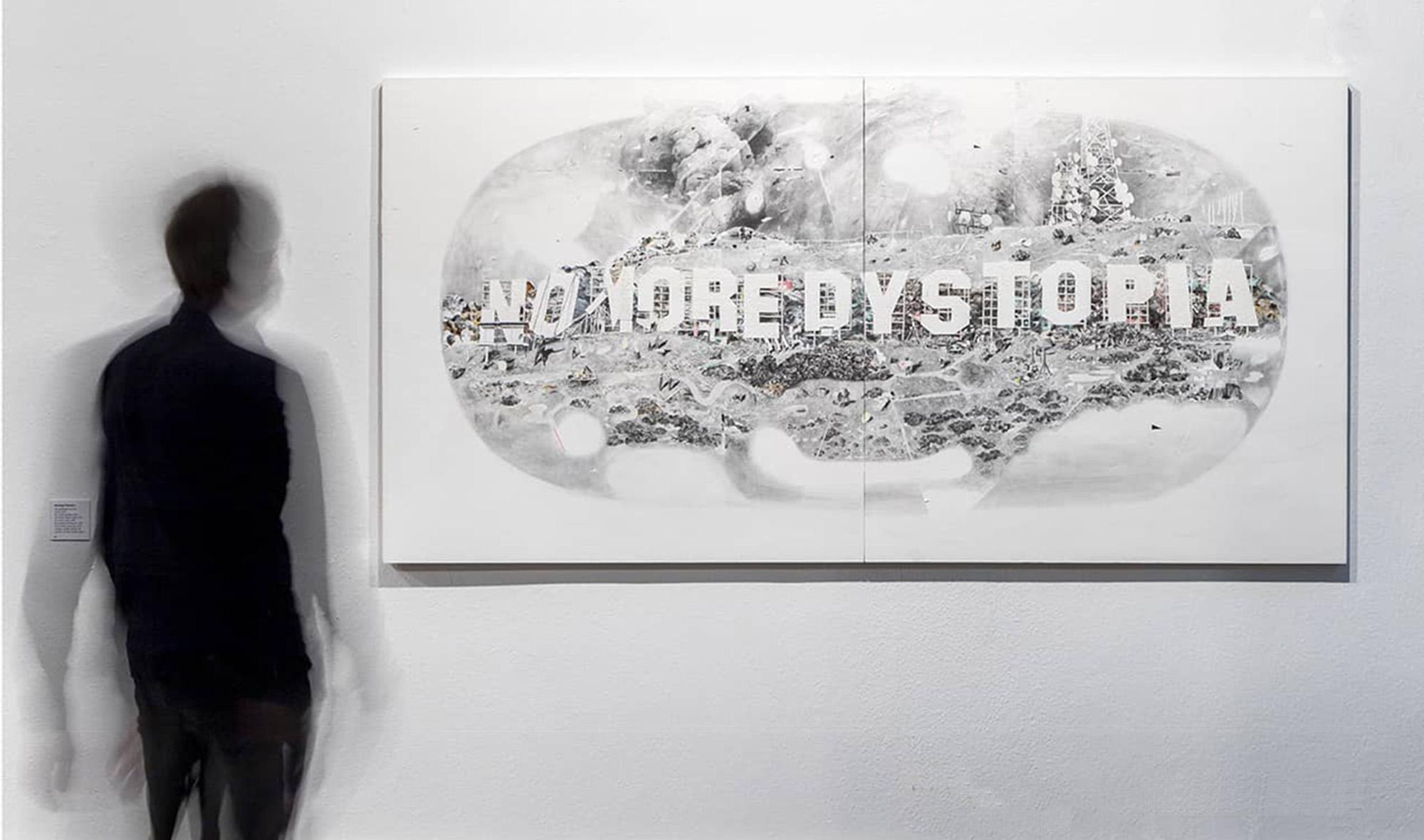 No more dystopia by Santiago Talavera at Sala Amós Salvador: Photo: Rafael Lafuente.