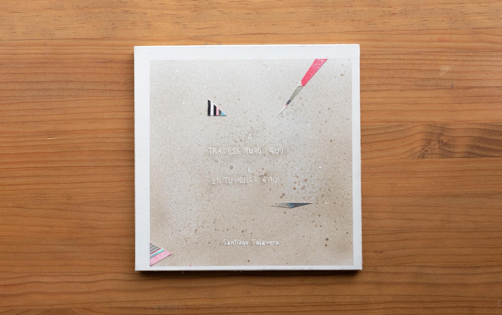 Santiago Talavera música Tras ese muro edición limitada vinilo